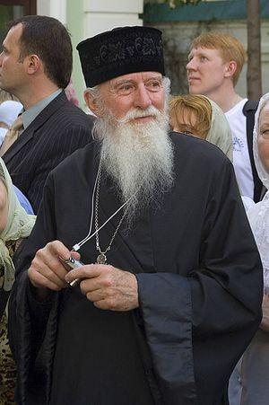 Отец Серафим Кардоза в Сретенском монастыре накануне Воссоединения. 16 мая 2007 года. Фото: А.Поспелов / Православие.Ru