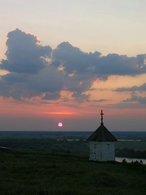 Часовня в селе Константиново
