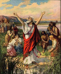 Ezra giving thanks to God.