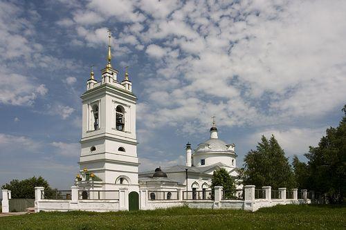 Храм Казанской иконы Божией Матери в Константиново