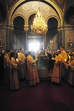 Hierarchical Liturgy in the St. Alexander Nevsky Cathedral