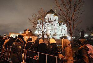 Доступ к Поясу Пресвятой Богородицы закроют в 02.00