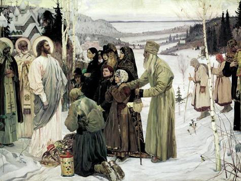 Михаил Нестеров. Святая Русь (фрагмент)