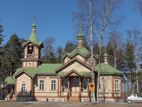 Православный храм святителя Николая в Йоэнсуу