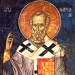 Saint Nicholas: icons and frescoes
