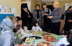 Посещение С. Медведевой Марфо-Мариинской обители