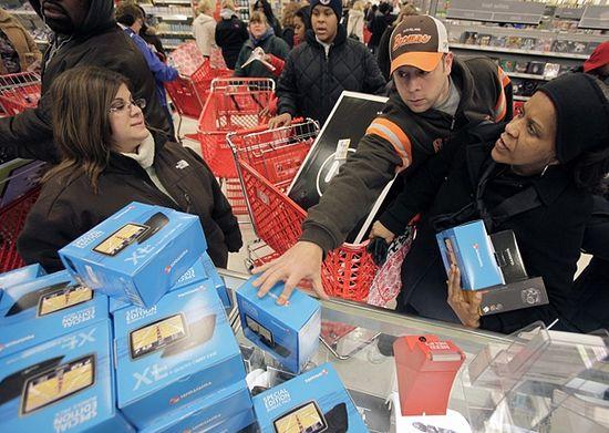 Рождественские распродажи в Америке