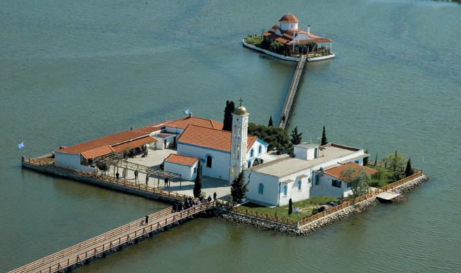 St Nicholas Metohi at Porto Lagos--The recipient of human suffering.