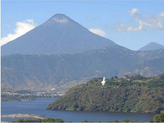 Lake Amatitlan, Guatemala, Holy Trinity Monastery