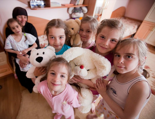 Комната девочек. Фото: Екатерина Степанова / miloserdie.ru