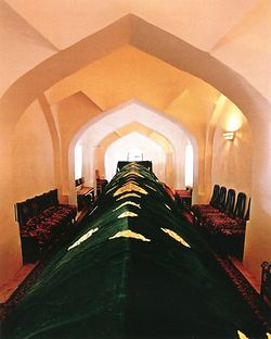 Proposed tomb of the Prophet Daniel in Samarkand.