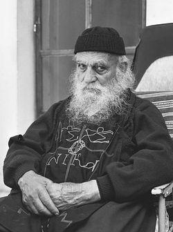 Старец Максим, келья Иверской иконы Божией Матери. Фото: иеромонах Савватий (Севостьянов)