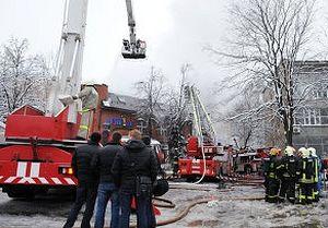 На месте трагедии на Новочеремушкинской улице в Москве. Фото: РИА Новости, Владимир Федоренко.