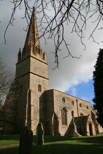 Церковь св. Эгвина в Ханибурне, Вустершир