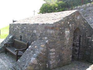 St. Trillo's Chapel.