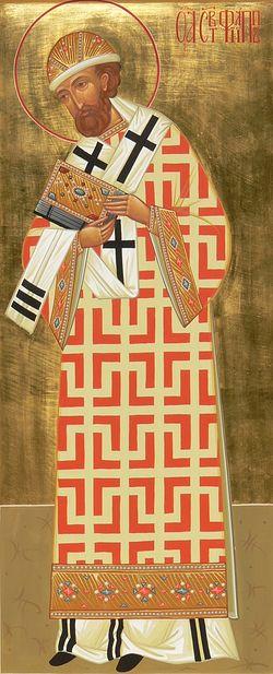 Загрузить увеличенное изображение. 600 x 1325 px. Размер файла 759734 b.  Святитель Филипп, митрополит Московский и всея России чудотворец
