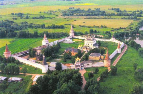 The Monastery of St. Joseph of Volokolamsk today.