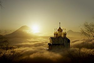 The Holy Trinity Cathedral, Petropavlovsk-Kamchatsky, built on donations from parishioners, was robbed and burned on the night of January 28.