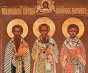 Три святителя: организатор, молитвенник, проповедник