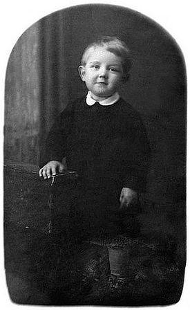 Andrei Kozarzhevsky, age 2.