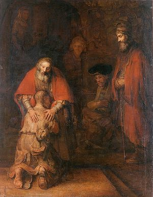 The Return of the Prodigal Son. Rembrandt.