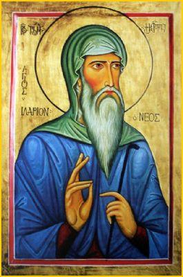 St. Hilarion the Georgian.
