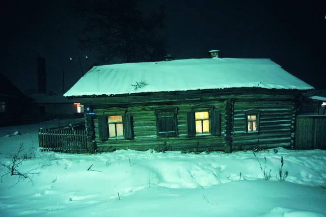 Старый дом семейства Серебренниковых