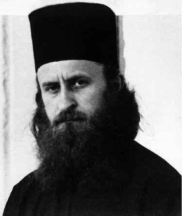 Архимандрит Софроний Сахаров. Фото 1932 года.