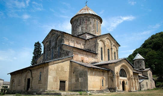 The Bagrat Cathedral in Kutaisi.