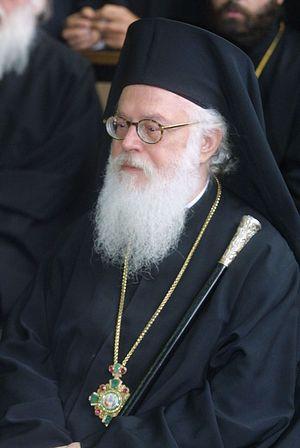 Загрузить увеличенное изображение. 800 x 1195 px. Размер файла 90626 b.  Анастасий, архиепископ Тиранский и всея Албании