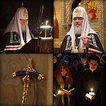 Служение Святейшего Патриарха Кирилла в Сретенском монастыре