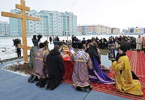 Кафедральный собор Салехарда станет самым большим храмовым комплексом на Крайнем Севере