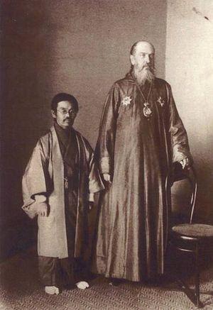 Святитель Николай и Павел Накаи