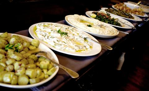 Lebanese Lenten food