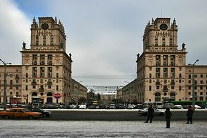 Площадь Независимости, Минск.