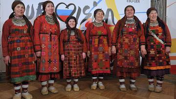 Бурановские бабушки. Фото: Руслан Кривобок / РИА Новости