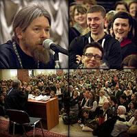 Встреча читателей с архимандритом Тихоном (Шевкуновым) в РГБ