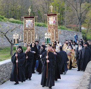 Крестный ход на Благовещение 2011г.