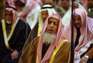 'Abd al-'Aziz ibn 'Abdillah āl ash-Shaikh, the Grand Mufti of Saudi Arabia.