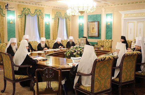 Заседание Священного Синода Русской Православной Церкви 16 марта 2012 года