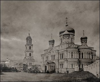 Diveyevo Monastery, before the revolution.