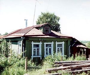 The house in Sergeyev Posad where Elder Seraphim (Batiukov) secretly lived.