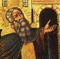 Божественная литургия в Сретенском монастыре в Неделю 4-ю Великого поста, в день памяти прп. Марии Египетской