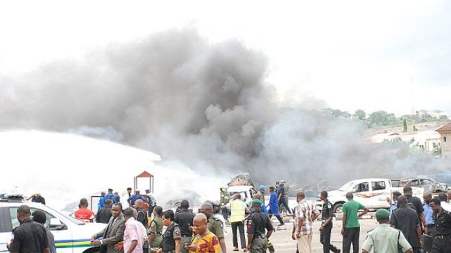 A bomb blast at a church in Jos on February 29