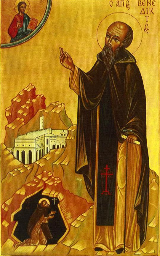 st benedict of nursia founder of western monasticism