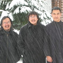 Seminarians of the St. Herman Seminary in Kodiak.