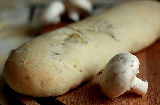 Рулет с картошкой и грибами