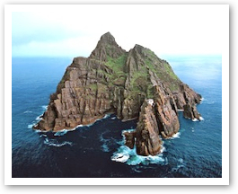 The Island of Skellig Michael.