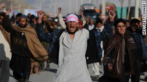 Волнения в Афганистане после сожжения Корана