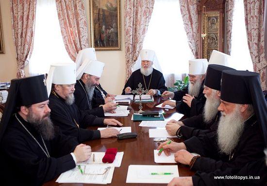 Заседание Священного Синода УПЦ 21 февраля 2012 года. Фото: orthodox.org.ua
